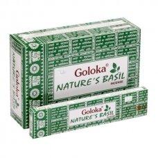 Goloka Nature's Basil smilkalai x 12