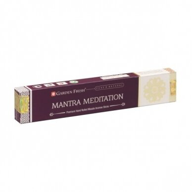 Garden Fresh Mantra Meditation smilkalai