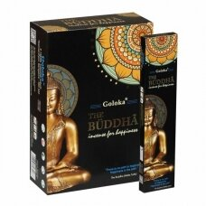 Goloka Buddha smilkalai x 12