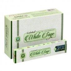 Goloka Californian White Sage smilkalai x 12