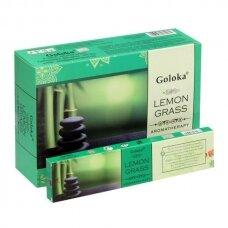 Goloka Lemon Grass smilkalai x 12