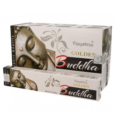Golden Buddha smilkalai x 12