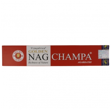 Golden Nag Champa smilkalai