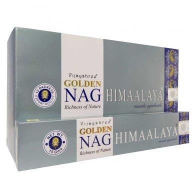 Golden Nag Himaalya smilkalai x 12