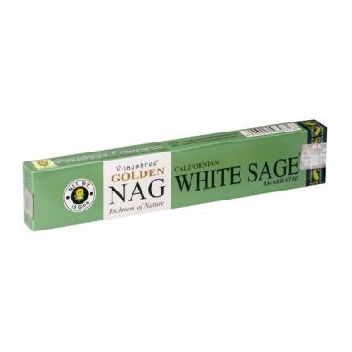 Golden Nag White Sage smilkalai