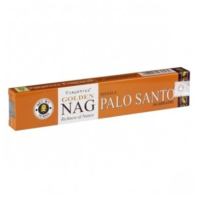 Golden Palo Santo smilkalai