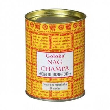 Goloka Nag Champa Backflow smilkalai