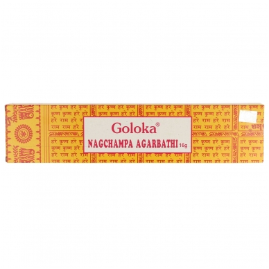 Goloka Nag Champa smilkalai