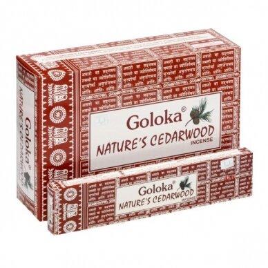 Goloka Nature's Cedarwood smilkalai x 12