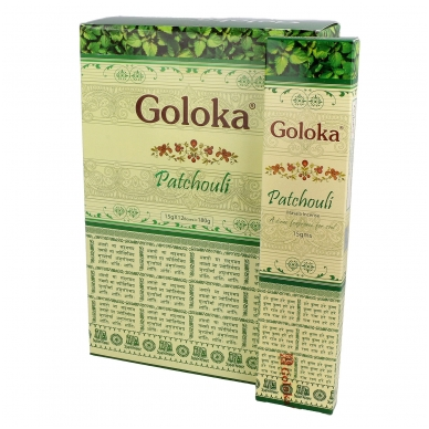 Goloka Patchouli smilkalai x 12