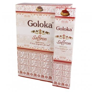 Goloka Saffron smilkalai x 12