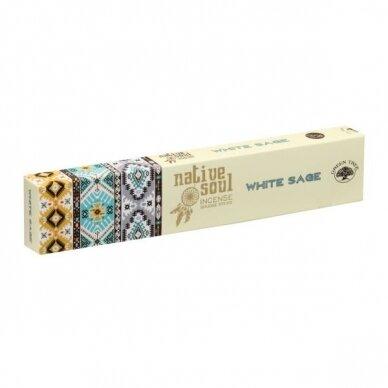 Native Soul White Sage smilkalai