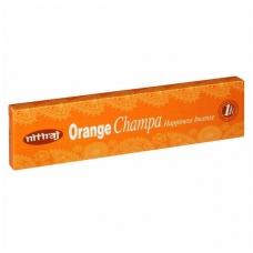 Nitiraj Orange Champa smilkalai