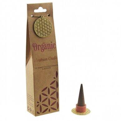 Organic Arabian Oudh kūginiai smilkalai