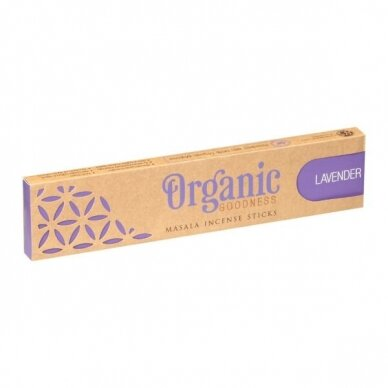 Organic Lavender smilkalai