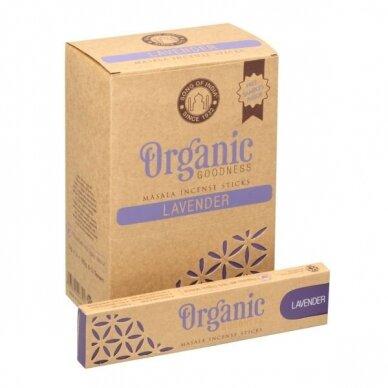 Organic Lavender smilkalai x 12