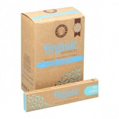 Organic Nag Champa smilkalai x 12