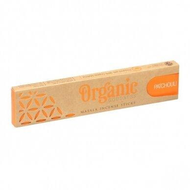 Organic Patchouli smilkalai
