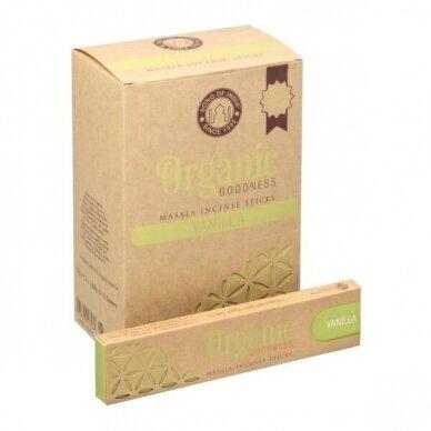 Organic Vanilla smilkalai x 12