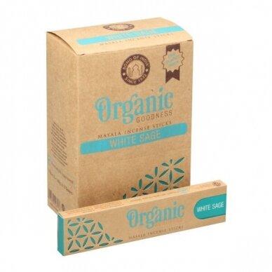 Organic White Sage smilkalai x 12
