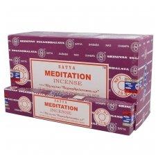 Satya Meditation smilkalai x 12
