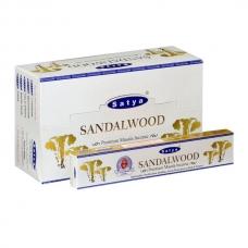 Satya Premium Sandalwood smilkalai x 12