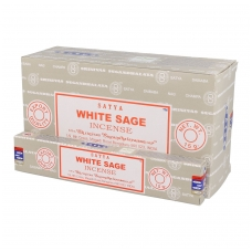 Satya White Sage smilkalai x 12