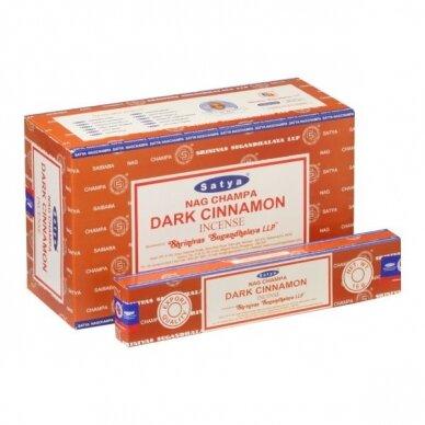Satya Dark Cinnamon smilkalai x 12