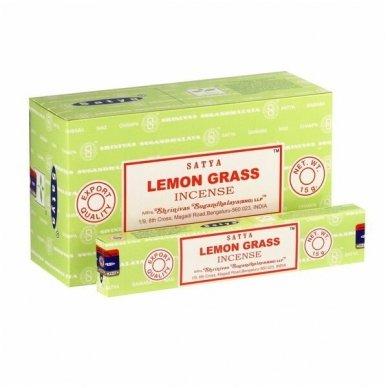 Satya Lemon Grass smilkalai x 12