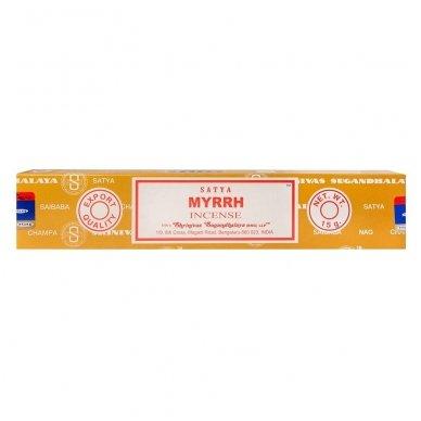 Satya Myrrh smilkalai