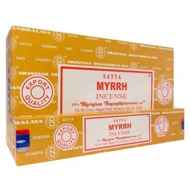 Satya Myrrh smilkalai x 12