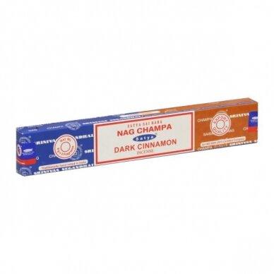 Satya Nag Champa & Dark Cinnamon smilkalai