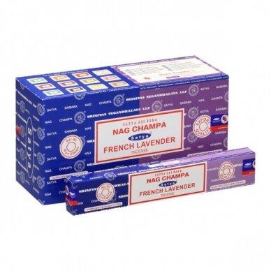 Satya Nag Champa & French Lavender smilkalai x 12