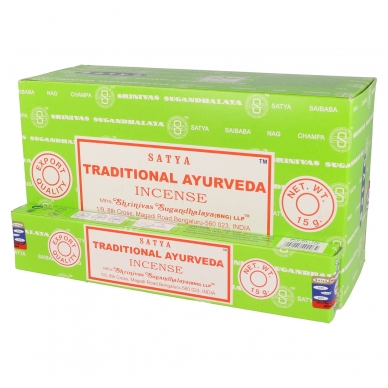 Satya Traditional Ayurveda smilkalai x 12