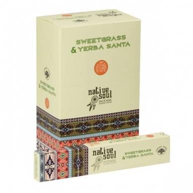 Sweetgrass & Yerba Santa smilkalai x 12