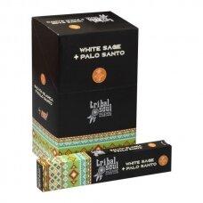 Tribal Soul White Sage + Palo Santo smilkalai x 12