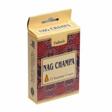 Tulasi Nag Champa kūginiai smilkalai