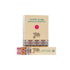 White Sage & Palo Santo smilkalai x 12